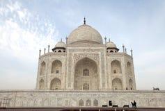Taj Mahal, widok od wschodu Zdjęcie Stock