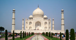 Taj Mahal-The wonder monument Royalty Free Stock Photos