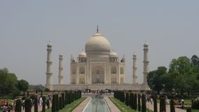 The Taj Mahal ....wonder of the world Stock Images
