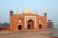 Taj Meczet Mahal Fotografia Royalty Free