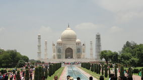 Taj Mehal. Agra. White house no edits clouds blue nature sunny weather clear sky travel nature monument Royalty Free Stock Photography