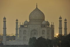 Taj at night Stock Photography