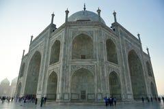 Taj przy Wschód słońca Mahal, India Zdjęcia Stock