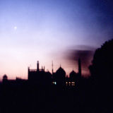 Taj Sonnenuntergang stockbild