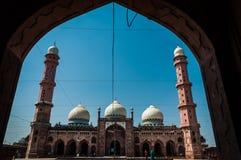 Taj ul清真寺,博帕尔,印度 免版税库存照片