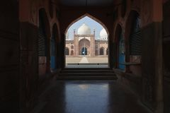 Taj - ul - masjid, bhopal, Madhya Pradesh, Indien arkivbilder