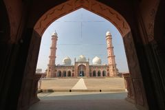 Taj - ul - masjid, bhopal, Madhya Pradesh, Indien royaltyfri fotografi