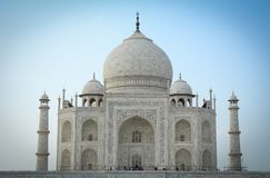 Taj w Agra Mahal, India Obrazy Stock