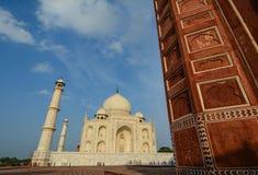 Taj w Agra Mahal, India Fotografia Stock