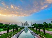 Taj w Agra Mahal, India Fotografia Royalty Free
