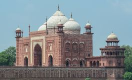 Taj w Agra Mahal, India Obraz Royalty Free