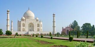 Taj w Agra Mahal, India Zdjęcia Stock