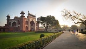 Taj w Agra Mahal, India Zdjęcia Royalty Free