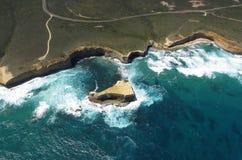 Tajada de cordero, gran camino del océano Fotos de archivo