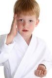 Tajada del karate Fotografía de archivo