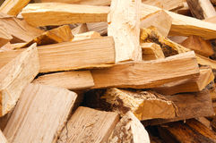 Tajado abajo de la madera Fotografía de archivo libre de regalías