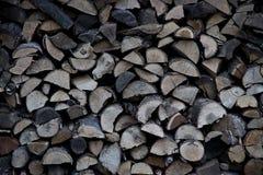 Tajar la madera Fondo tajado de la textura de la leña del roble Foto de archivo libre de regalías