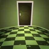 Tajemnica pokój ilustracji
