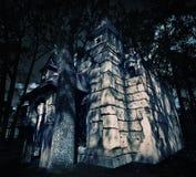 Tajemnica średniowieczny kasztel Fotografia Stock