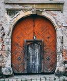 Tajemnicy drzwi zdjęcia royalty free