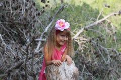 Tajemnicy dziecko dusza Dziecko sekrety Fotografia Stock