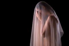 tajemnicy kobieta obrazy royalty free