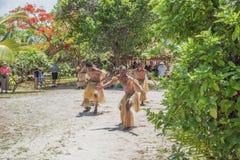 Tajemnicy wyspy tana wykonawcy Obraz Royalty Free