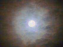 Tajemnicza księżyc Fotografia Royalty Free