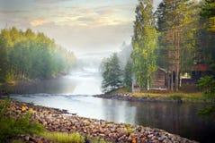 tajemnicza rzeka obraz royalty free