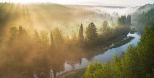 tajemnicza rzeki Obrazy Royalty Free