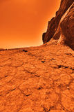 Tajemnicza ziemna planeta Obrazy Royalty Free