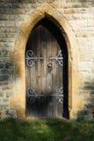 tajemnicze drzwi Zdjęcie Royalty Free