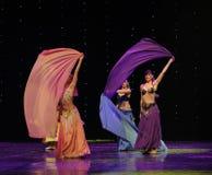 Tajemniczego orientalnego Turcja brzucha tana Austria światowy taniec fotografia royalty free