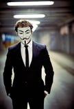 Tajemniczy anonym obrazy royalty free