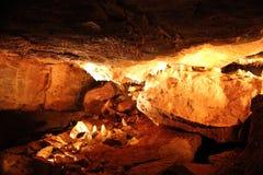 Tajemniczy Caverns 11 - soplenowie i stalagmity - zdjęcia royalty free