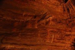 Tajemniczy Caverns 8 - soplenowie i stalagmity - zdjęcia stock