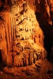 Tajemniczy Caverns 4 - soplenowie i stalagmity - zdjęcia royalty free