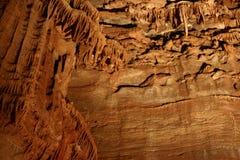 Tajemniczy Caverns 16 - soplenowie i stalagmity - fotografia stock