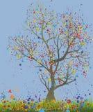 tajemniczy drzewo Fotografia Royalty Free