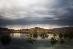 tajemniczy jezioro Zdjęcie Royalty Free