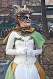 Tajemniczy kobieta portret Zdjęcie Stock