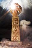 tajemniczy krzyż celta v Zdjęcie Royalty Free