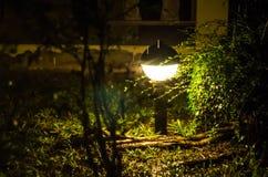 Tajemniczy lampionu światło Zdjęcie Stock