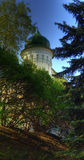 tajemniczy Mińsk centrum wieży Obraz Royalty Free