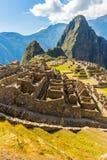 Tajemniczy miasto - Mach Picchu, Peru, Ameryka Południowa Incan ruiny Zdjęcia Royalty Free