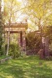 Tajemniczy miejsce, piękna stara świątynia obraz stock