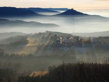 Tajemniczy momenty w Szwabskiej albie obrazy stock