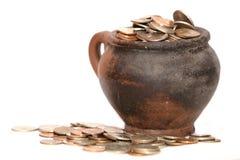 tajemniczy monety Fotografia Royalty Free