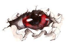 Tajemniczy oko Ilustracja Wektor