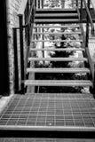 Tajemniczy schody zdjęcie royalty free